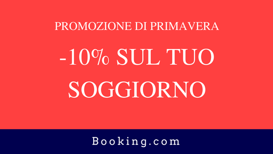 sconto su booking.com